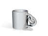 Knot Mug 3d printed