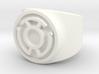 Sinestro Yellow Fear GL Ring Sz 5 3d printed