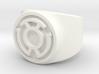 Sinestro Yellow Fear GL Ring Sz 6 3d printed