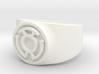 Sinestro Yellow Fear GL Ring Sz 14 3d printed