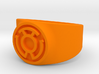 Sinestro Yellow Fear GL Ring Sz 14 3d printed