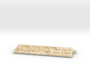 Keybord Keychain 3d printed