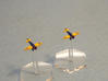 1/600 Boeing P-26A Peashooter (x12) 3d printed courtesy of L.Gil, M.Baulch & T.Robles