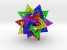 Compound of 5 Tetrahedra, 16cm 3d printed
