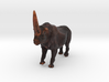 Elasmotherium Color 3d printed Elasmotherium animal toy by ©2012 RareBreed