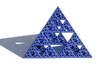 Sierpinski Pyramid  3d printed Photo
