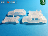 SET 2x Mercedes-Benz W123 (N 1:160) 3d printed