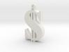 Dollar Pendant 3d printed