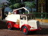 1:43 Dennis Pax Cab & Gully Emptier Chassis 1940s 3d printed Model built & photographed by Terry Russell