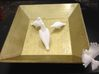 Bird No 4 (Doves) 3d printed Side View