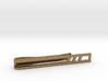 Minimalist Tie Bar - Triple Slash 3d printed