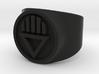 Black Death GL Ring Sz 5 3d printed