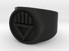 Black Death GL Ring Sz 6 3d printed