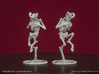 Faun Skeletons 32mm Set 3d printed