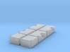 1/50th Scale Truck Square Fuel Tank builders pack 3d printed