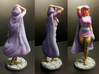 Sheila of D&D 6inch Statue 3d printed Sheila the Thief 6 inch Statue printed in Full Color Sandstone