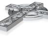 3D CROSS CNC 3d printed