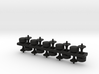 Counter Stools S Scale X10 3d printed