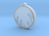 SPIRIT Medallion 3d printed