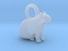 1-1/2 inch Capybara Pendant 3d printed