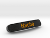 Nacho Nameplate for SteelSeries Rival 3d printed