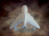 Cartoon Harrier Jump Jet 3d printed Photograph of printed model