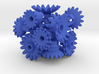 Blue Gears & Tiles for the Multi-Gear Cube Kit 3d printed