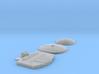 GALACTIKA SALZO COMBO SET BRIDGE DRILLED TWO DOMES 3d printed