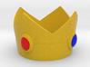 Princess Peach cosplay mini crown 3d printed