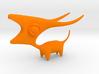 Longhorned Creature 3d printed