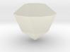 Silver Crystal 3d printed