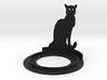 Halloween Cat Tea Candle Holder 3d printed