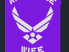 Air Force Wife iPhone 4/4S Case 3d printed
