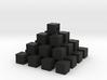 Cube piramid 3d printed