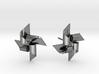 Pinwheel Earring Large size 3d printed