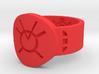 Orange Avarice FF Ring Sz 15 3d printed