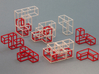 """SOMA's Revenge"" - Outer Parts Only 3d printed Cube Example 1 - Exploded view"
