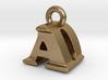 3D Monogram Pendant - ADF1 3d printed
