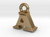3D Monogram Pendant - AIF1 3d printed