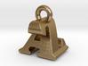 3D Monogram Pendant - AZF1 3d printed