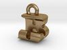 3D Monogram Pendant - BJF1 3d printed