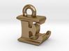 3D Monogram Pendant - ELF1 3d printed