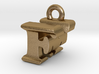 3D Monogram Pendant - FMF1 3d printed