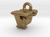 3D Monogram Pendant - FVF1 3d printed