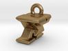 3D Monogram Pendant - FXF1 3d printed