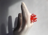 Fronds Flower Rings - Various Sizes 3d printed