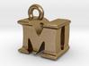 3D Monogram Pendant - MDF1 3d printed