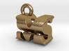 3D Monogram Pendant - MSF1 3d printed