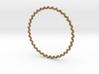 KnobbyKnot Bangle Bracelet MEDIUM 3d printed
