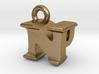 3D Monogram Pendant - NPF1 3d printed